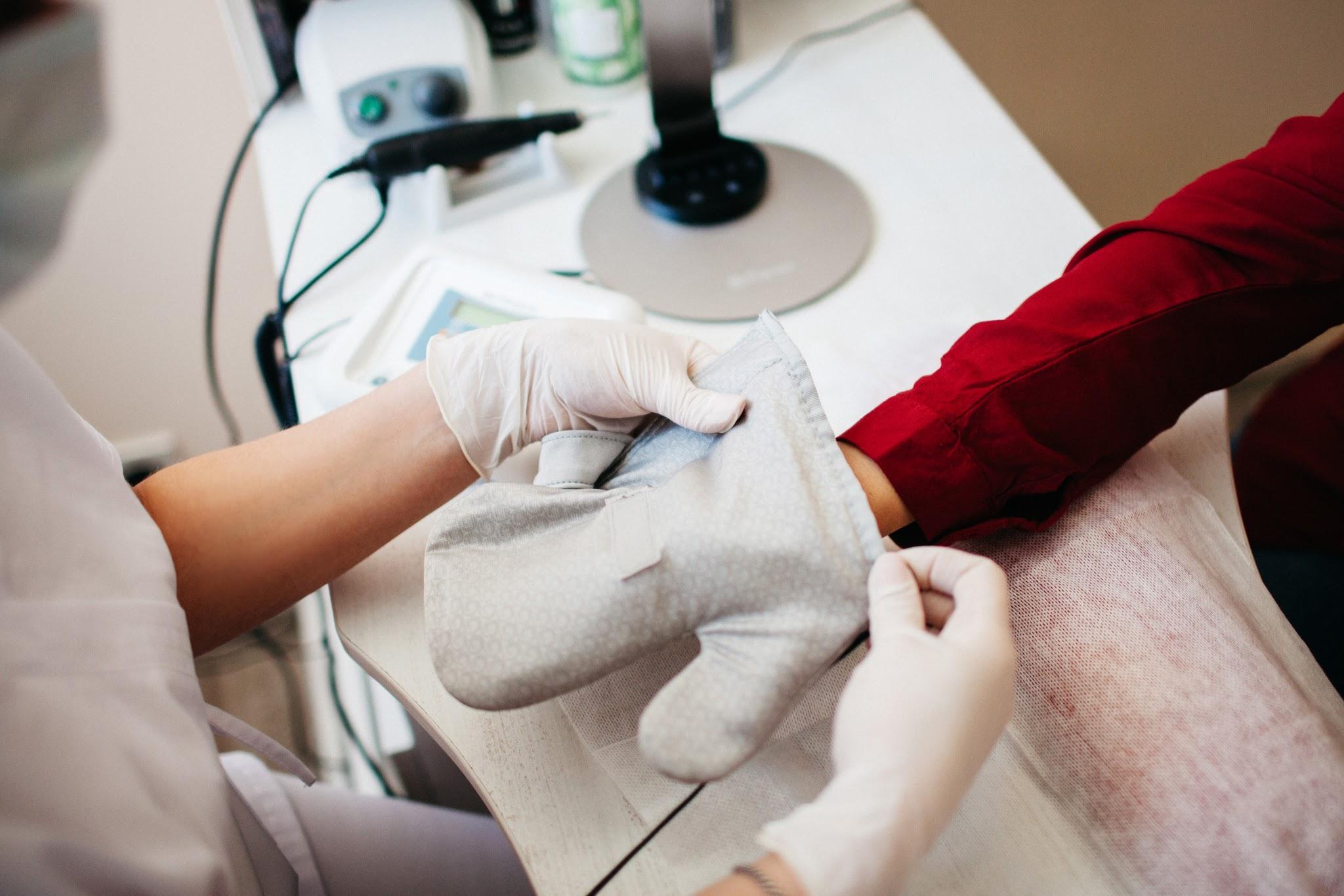 Мікротокова терапія рук